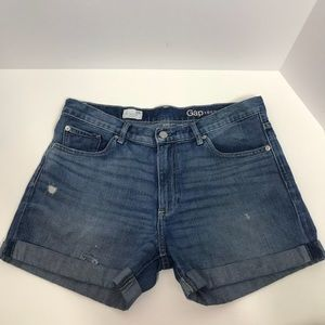 🎀 Gap sexy boyfriend shorts jeans blue denim🎀